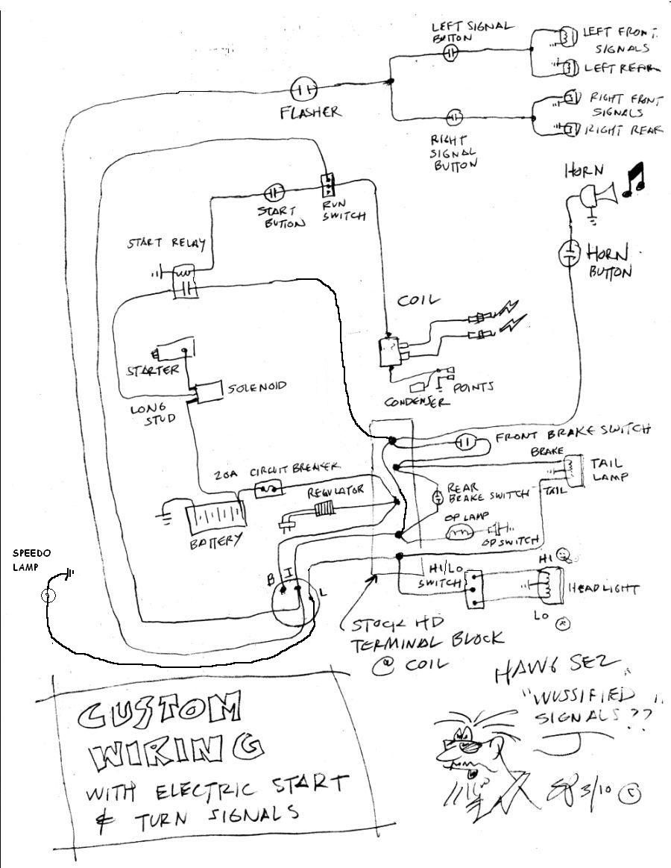 Harley Davidson Evo Wiring Diagram - Wiring Diagrams User on